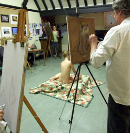 Life Drawing Classes, Oil Painting Classes